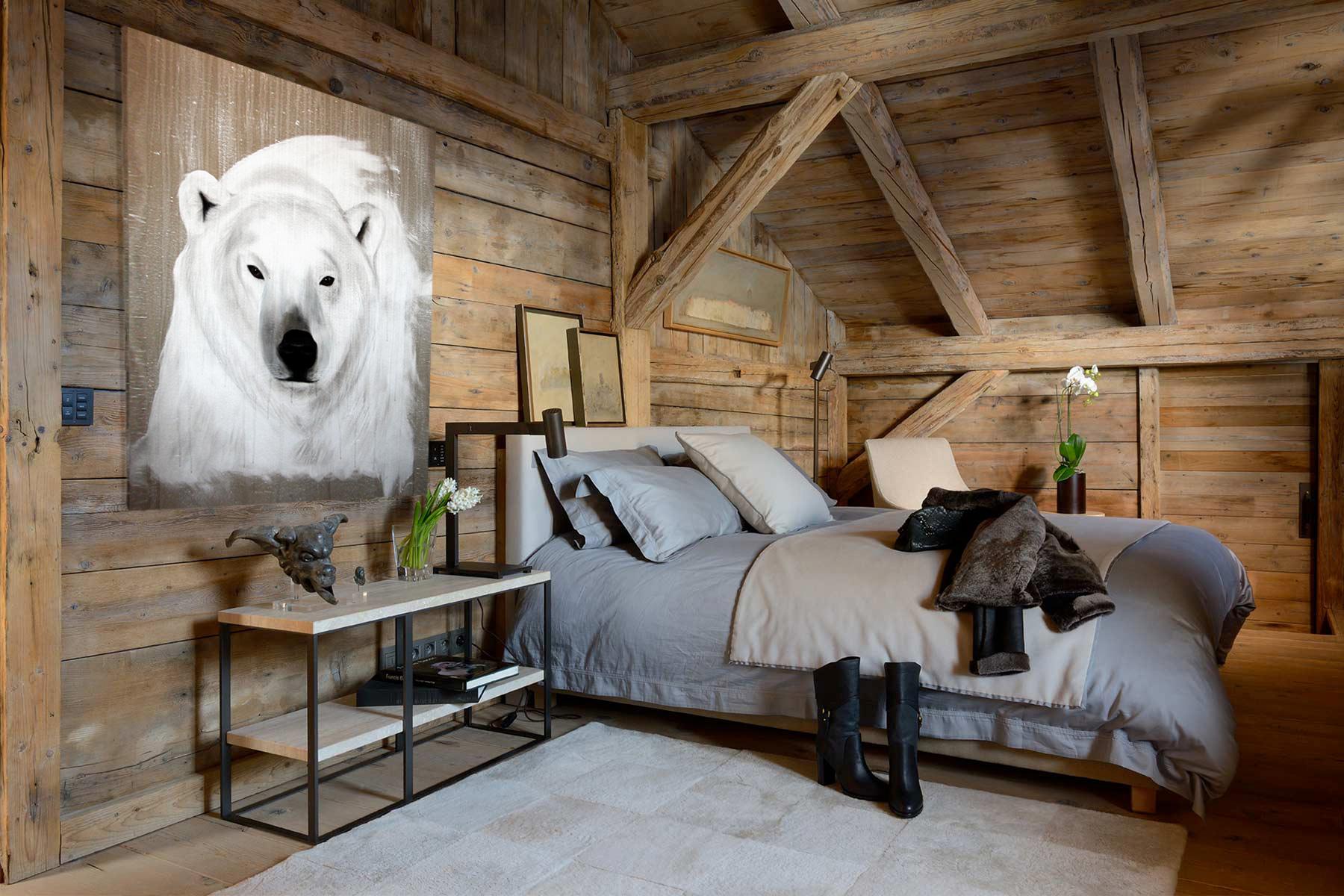 comment decorer votre interieur avec un tableau ours